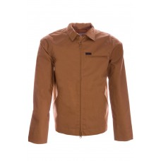 Detroit Jacket Cotton Poplin 7.1 oz Hamilton Brown CASTANHO