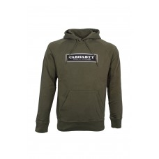 Hooded Sign Sweat VERDE