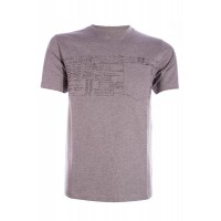 S/S Compton T-Shirt CINZENTO