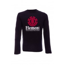 L-Sleeve Element VERTICAL Flint Black PRETO