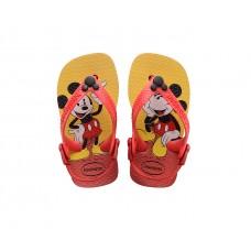 Havaianas Baby Disney Classic Red Black VERMELHO