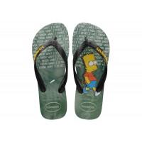 Chinelos Havaianas Simpsons Ice Grey VERDE