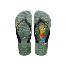 Chinelos Havaianas Simpsons Ice Grey VERDE