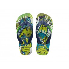 Chinelo Havaianas Kids Radical Yellow Led AMRELO