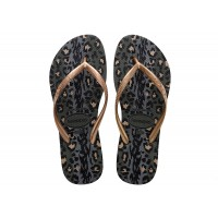 Havaianas Slim Animals Green Olive VERDE
