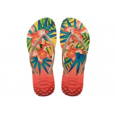 Chinelos Havaianas Slim Tropical Light Yell AMARELO