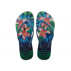 Chinelos Havaianas Slim Tropical Mint Green VERDE