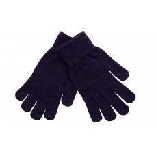 GLOVES KNITTED AZUL