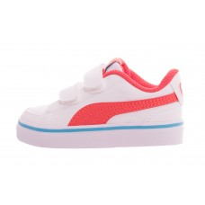 Court Point Vulc v2 V Inf Puma White-Hot BRANCO