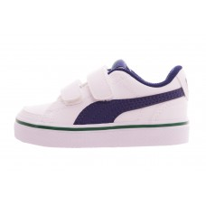 Court Point Vulc v2 V Inf Puma White-Blu BRANCO