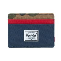 Charlie Navy/Red/Woodland Camo AZUL