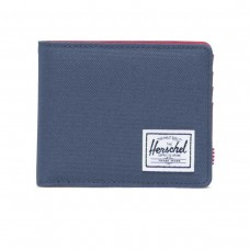 Roy Coin RFID Navy/Red AZUL
