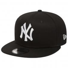 MLB New York Yankees Black White Snapback PRETO