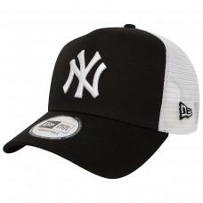 NewYork Yankees Clean A Frame Trucker Black/White PRETO