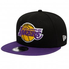 Los Angeles Lakers Black 9FIFTY Snapback Cap  PRETO