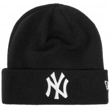 New York Yankees Essential Black Cuff Knit PRETO