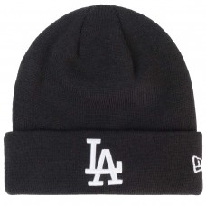 Los Angeles Dodgers Essential Black Cuff Knit PRETO