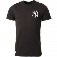 New York Yankees Taped Sleeve Black PRETO