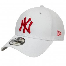NEW YORK YANKEES ESSENTIAL RED LOGO WHITE 9FORTY CAP BRANCO
