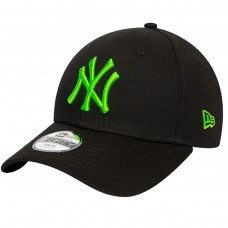 NEW YORK YANKEES NEON LOGO BLACK 9FORTY CAP PRETO