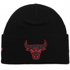 WORDMARK CUFF KNIT Chicago Bulls PRETO