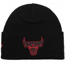 WORDMARK CUFF KNIT Chicago Bulls PRETO