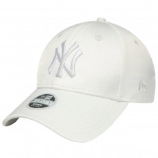 NEW YORK YANKEES WOMENS SATIN WHITE 9FORTY CAP BRANCO