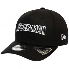 Spiderman Wordmark Kids Black 9FIFTY Cap PRETO
