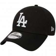 LA Dodgers Kids Black 9FORTY Cap PRETO