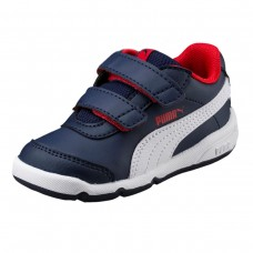 Stepfleex 2 SL V PS Peacoat-Puma White-F AZUL
