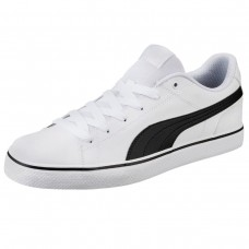 Court Point Vulc v2 Puma White-Puma Blac BRANCO