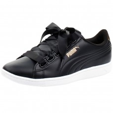 Puma Vikky Ribbon SL Metallic Puma Black PRETO