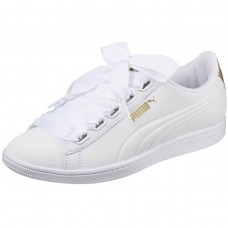 Puma Vikky Ribbon SL Metallic Puma White BRANCO