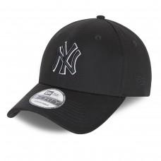 New York Yankees Base 9FORTY Black PRETO