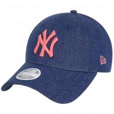 New York Yankees Denim Wash 9FORTY Cap AZUL
