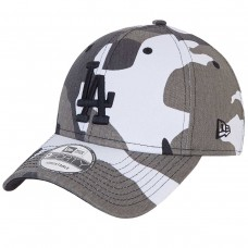 LA Dodgers Camo Pack Grey 9FORTY Cap CAMUFLADO