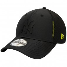 New York Yankees Tonal Feather Mesh The League 9forty Preto