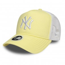 NEW YORK YANKEES ESSENTIAL WOMENS YELLOW A FRAME TRUCKER AMARELO