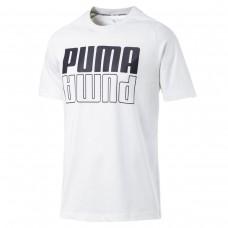 Modern Sports Logo Tee Puma White BRANCO