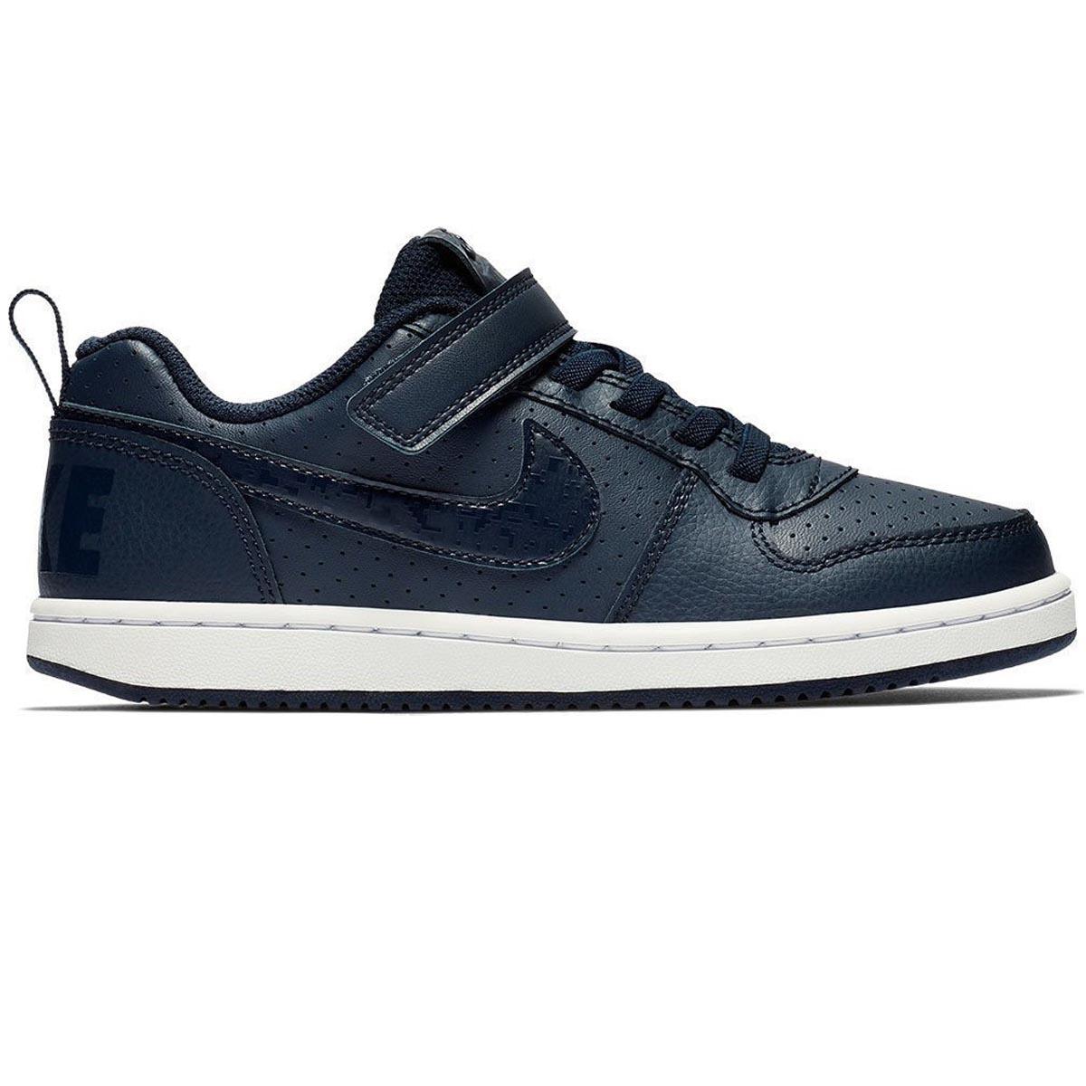 2108d65cc49 Nike NIKE COURT BOROUGH LOW (PSV) AZUL - 870025-403 - Blitstorm