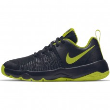 NIKE TEAM HUSTLE QUICK (GS) PRETO