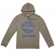 HOODED SWEAT W STCKD - BUNGEE CORD CAQUI