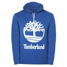 HOODED SWEAT W STCKD - YALE BLUE AZUL