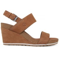 CAPRI SUNSET WEDGE SADDLE CASTANHO