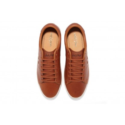 Fred Perry Spencer Leather - tan CASTANHO