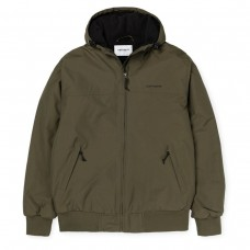 Hooded Sail Jacket VERDE