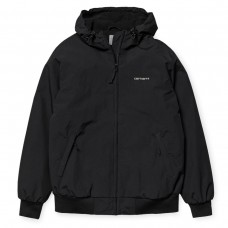Hooded Sail Jacket PRETO