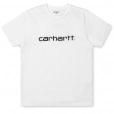 S/S Script T-Shirt BRANCO