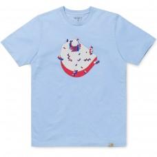 S/S C Pixel T-Shirt AZUL