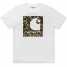 S/S C Collage T-Shirt BRANCO